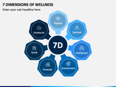 7 Dimensions of Wellness PPT Slide 1