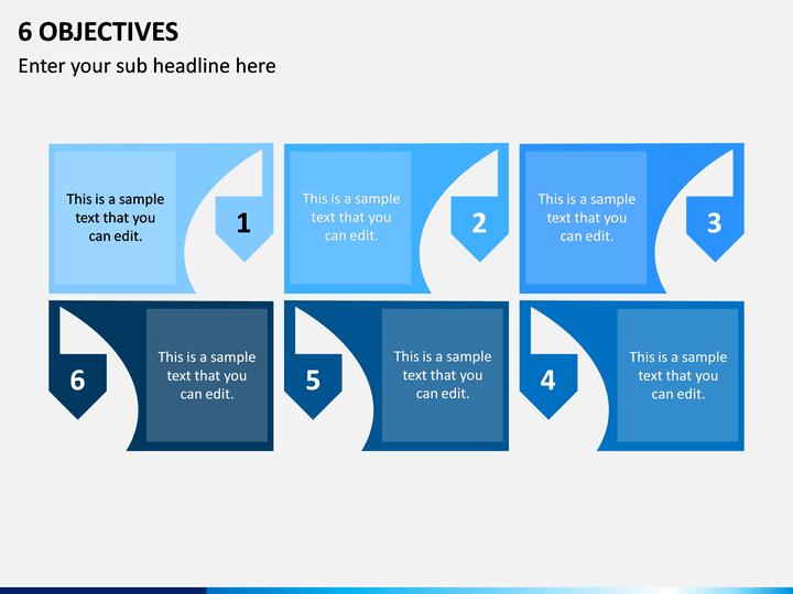 6 Objectives PPT Slide 1
