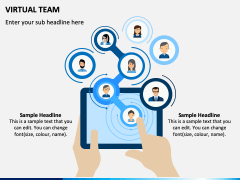 Virtual Team PPT Slide 1