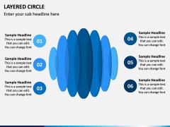 Layered Circle PPT Slide 12