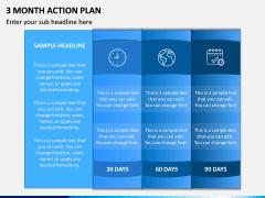 3 Month Action Plan PPT Slide 2