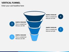 Vertical Funnel PPT Slide 13