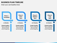 Business Plan Timeline PPT Slide 8