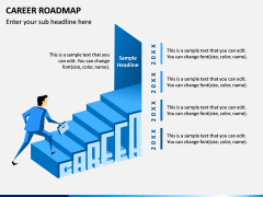 Career Roadmap PPT Slide 1