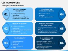 CSR Framework PPT Slide 8