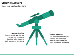 Vision Telescope PPT Slide 3