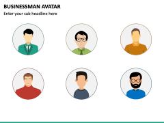 Business Man Avatar PPT Slide 3
