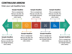 Continuum Arrow PPT Slide 6