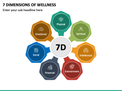 7 Dimensions of Wellness PPT Slide 2