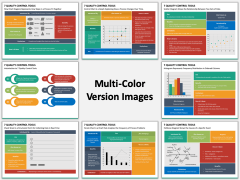 7 Quality Control Tools Multicolor Combined