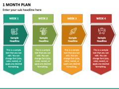 1 Month Plan PPT Slide 5