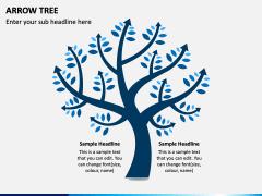 Arrow Tree PPT Slide 1