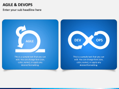 Agile and DevOps PPT Slide 3