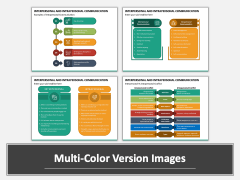 Interpersonal and Intrapersonal Communication Multicolor Combined