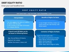 Debt Equity Ratio PPT Slide 2