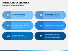 Dimensions of Strategy PPT Slide 6