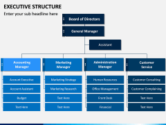 Executive Structure PPT Slide 2