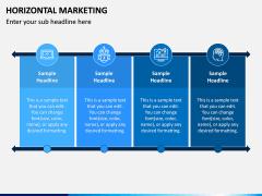 Horizontal Marketing PPT Slide 6