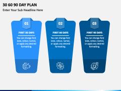 30 60 90 Day Plan Free PPT Slide 1