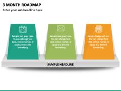 3 Month Roadmap PPT Slide 2