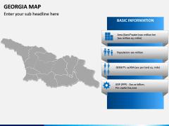 Georgia Map PPT Slide 4