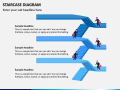 Staircase Diagram PPT Slide 12