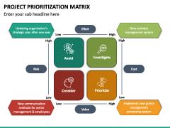 Project Prioritization Matrix PPT Slide 2