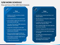 9/80 Work Schedule PPT Slide 3