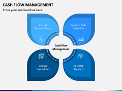 Cash Flow Management PPT Slide 1