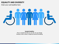Equality and Diversity PPT Slide 3
