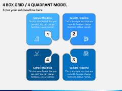 4 Box Grid PPT Slide 10
