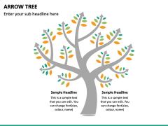 Arrow Tree PPT Slide 4