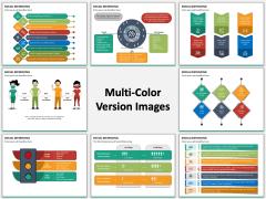 Social Distancing Multicolor Combined