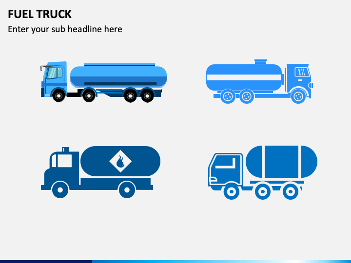 Fuel Truck PPT Slide 1