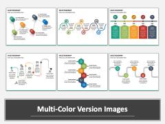 Sales Roadmap Multicolor Combined