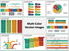 HR Strategy Roadmap PPT Slide MC Combined