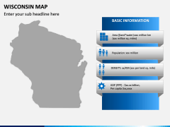 Wisconsin Map PPT Slide 5