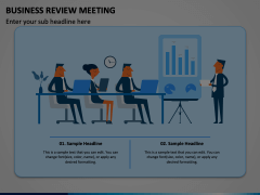 Business Review Meeting Animated Presentation - SketchBubble