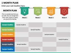 1 Month Plan PPT Slide 4