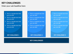 Key Challenges PPT Slide 4