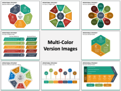 Operational Efficiency PPT Multicolor Combined