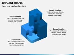 3D Puzzle Shapes PPT Slide 5