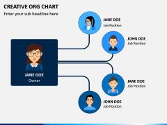 Creative Organizational Chart PPT Slide 9