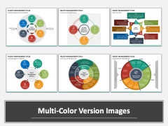 Talent Management Cycle Multicolor Combined