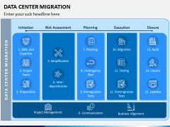 Data Center Migration PPT Slide 1