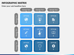 Infographic Matrix PPT Slide 11
