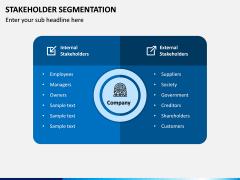 Stakeholder Segmentation PPT Slide 2