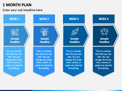 1 Month Plan PPT Slide 2
