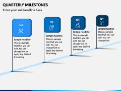 Quarterly Milestone PPT Slide 5