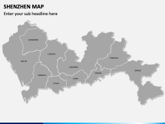 Shenzhen Map PPT Slide 2